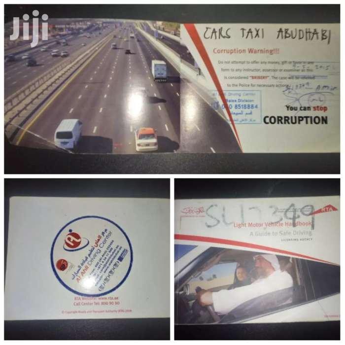 Drive In UAE 220 Page RTA Safe Driving Handbook