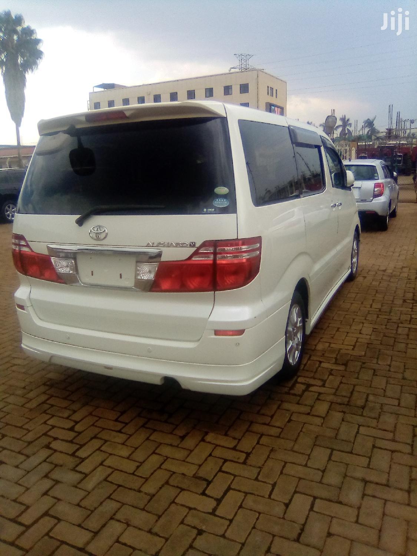 New Toyota Alphard 2006 White | Cars for sale in Kampala, Central Region, Uganda