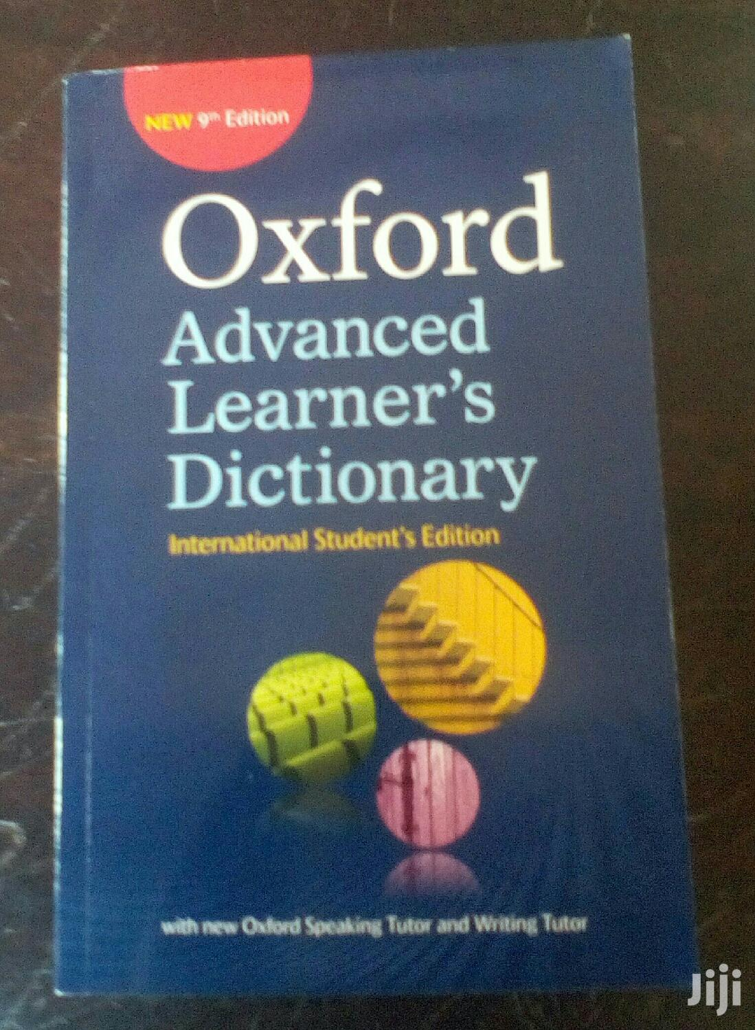 9th Edtion Oxford Advanced Dictionary