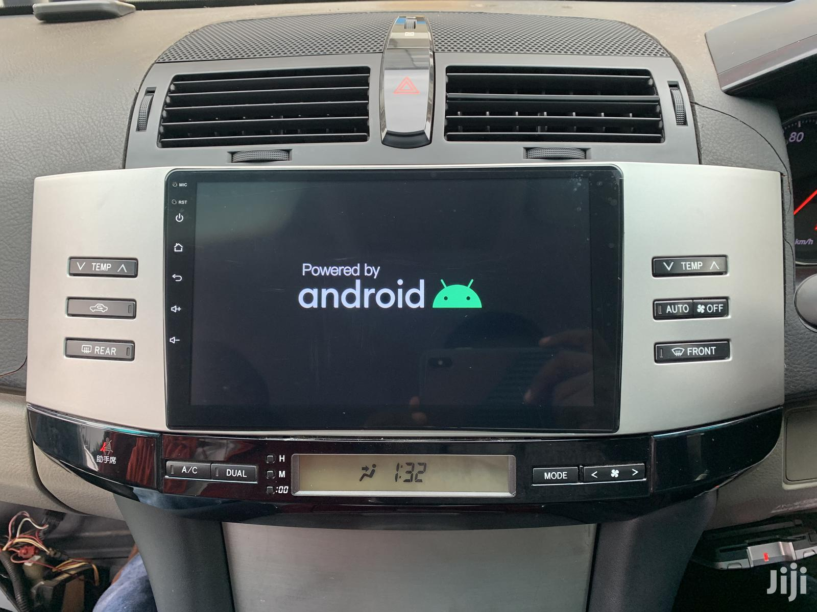 9inch Toyota Mark X Andriod10 Navigation Radio | Vehicle Parts & Accessories for sale in Kampala, Central Region, Uganda
