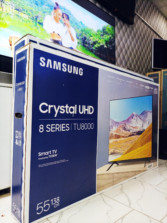 Samsung 55 Inches Crystal Uhd Series 8 Smart Flat Screen TV