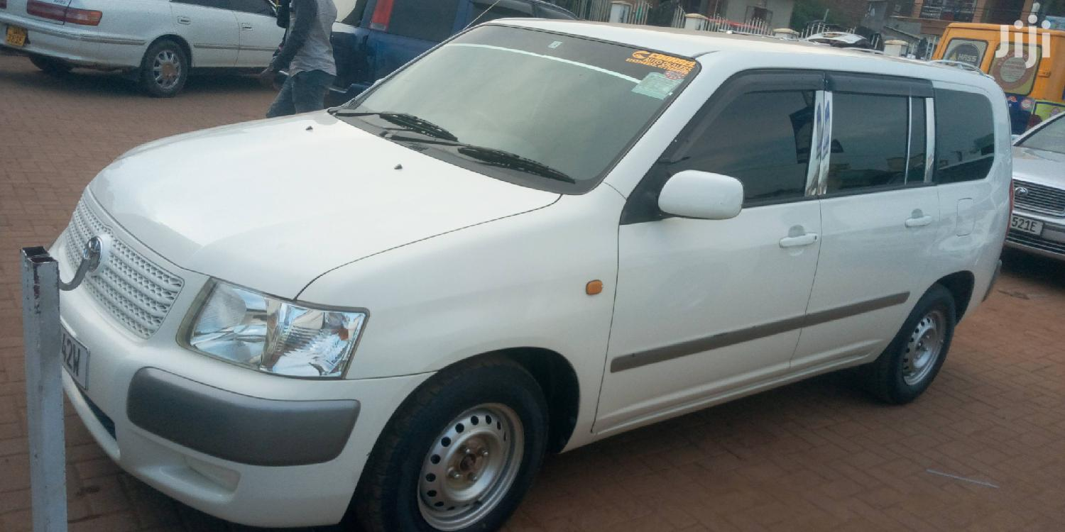 Archive: Toyota Succeed 2007 White