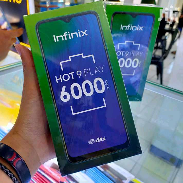 New Infinix Hot 9 Play 32 GB Black