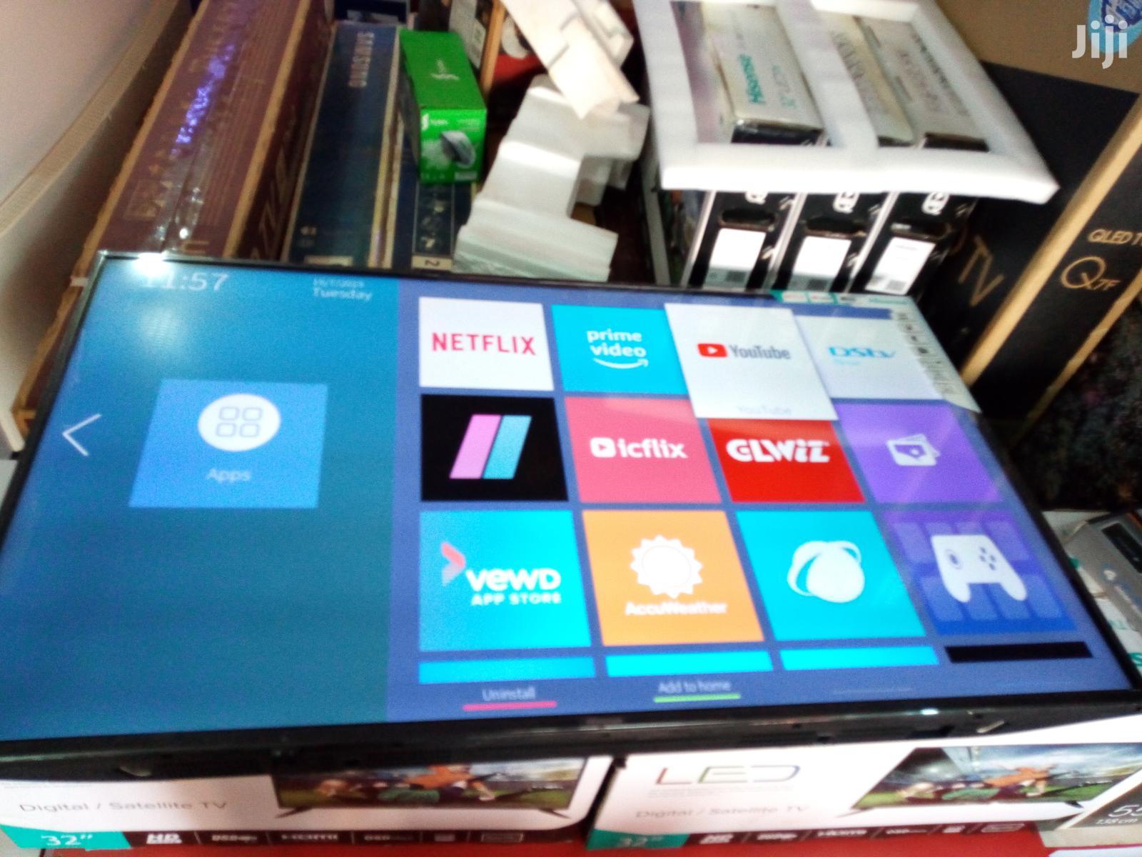 Hisense 4K Uhd Smart LED Tvs 55 Inches