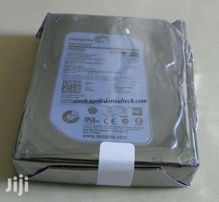 2tb Seagate Internal Desktop 2 TB Hard Disk | Computer Hardware for sale in Kampala, Central Region, Uganda
