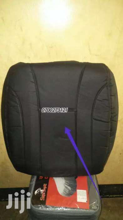 Selected Quality Leather Seat Covers Black