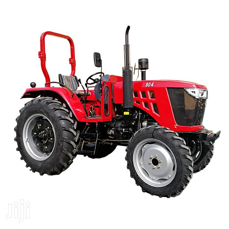 40hp 4wd Farm Tractor With Disc Plough 2019 Red For Sale
