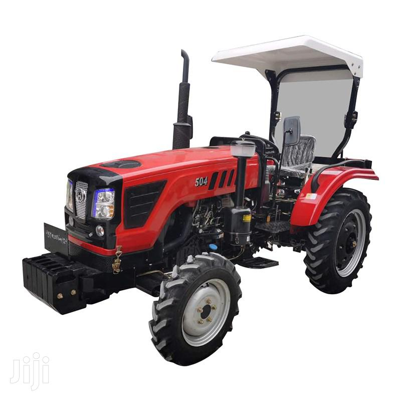 40hp 4wd Farm Tractor With Disc Plough 2019 Red For Sale | Heavy Equipment for sale in Kampala, Central Region, Uganda