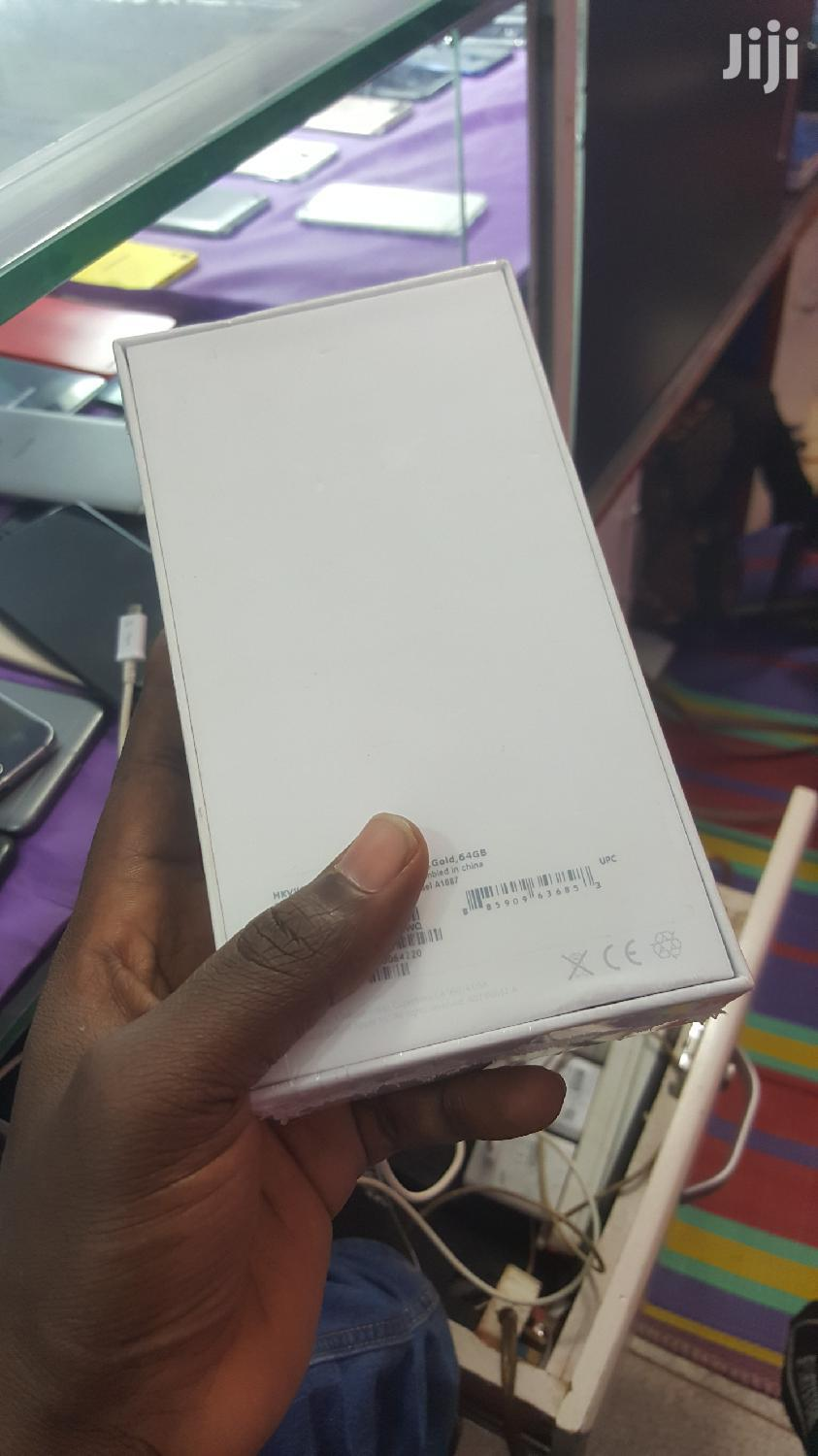 New Apple iPhone 6s Plus Silver 64 Gb   Mobile Phones for sale in Kampala, Central Region, Uganda