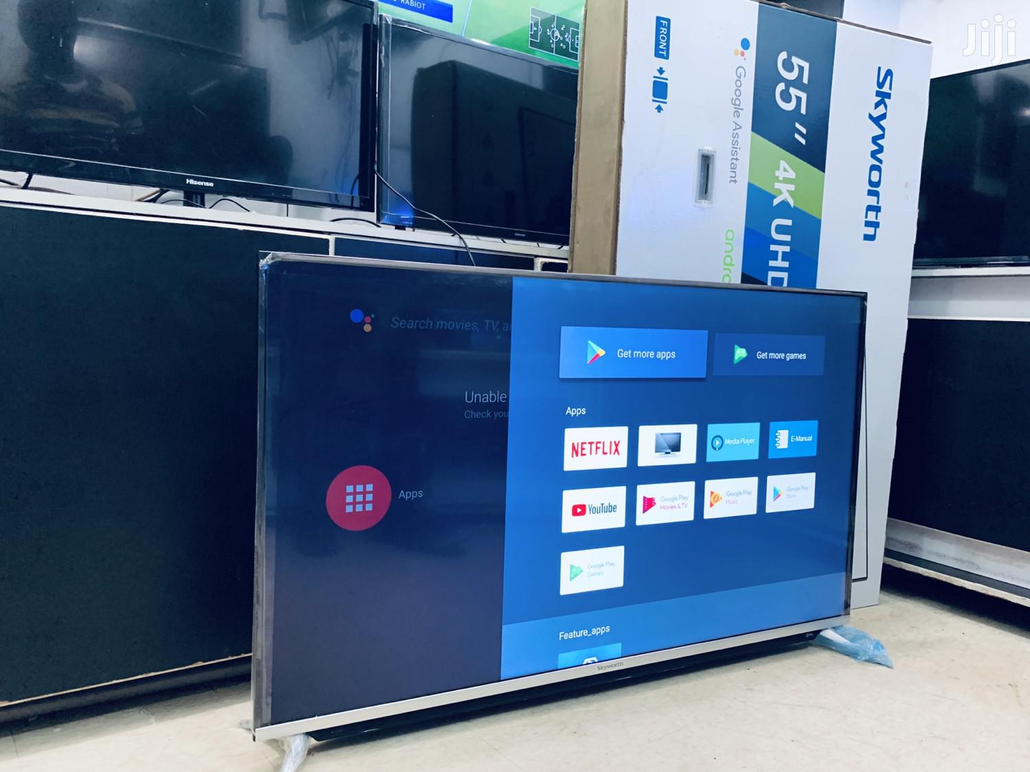 Archive: LED UHD 4K Skyworth Flat Screen 55 Inches
