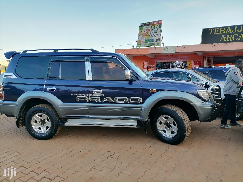 Toyota Land Cruiser Prado 1999 Blue   Cars for sale in Kampala, Central Region, Uganda