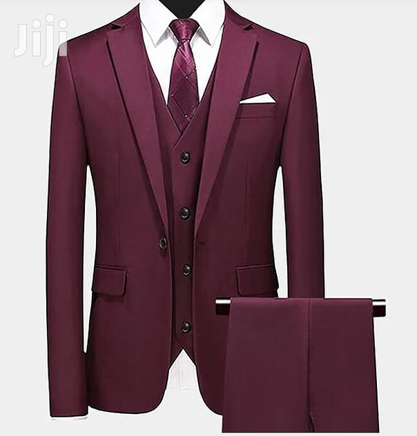 High Quality Men Suits With Free Necktie