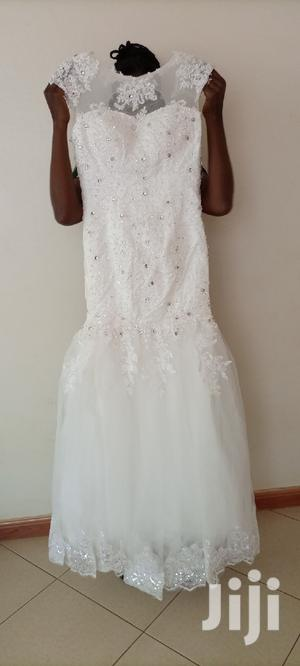 """Wedding Gown""""Marmaid"""" With Precious Stones 