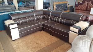 L,Sofa Chair Leather | Furniture for sale in Central Region, Kampala