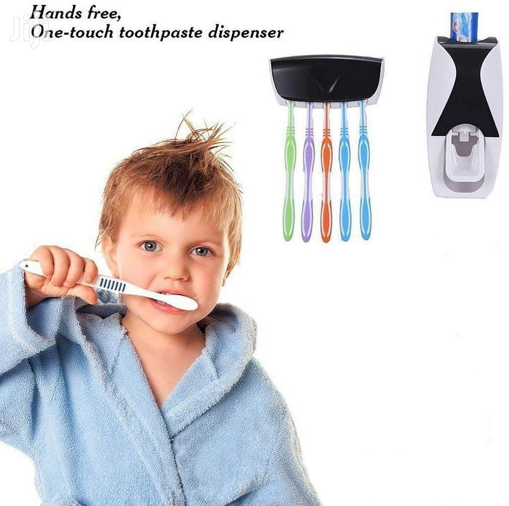 Automatic Toothpaste Dispenser Toothbrush Holder Set   Home Accessories for sale in Kampala, Central Region, Uganda