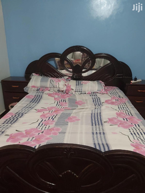 Bed 5X6 Dark Brown | Furniture for sale in Kampala, Central Region, Uganda