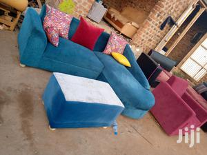 Sofa Blue   Furniture for sale in Central Region, Kampala