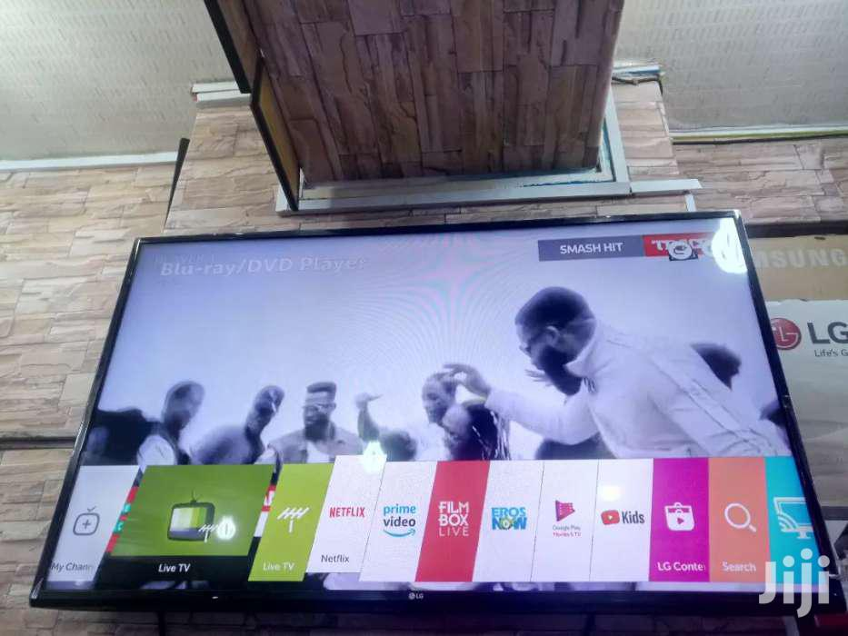 50inches LG Smart TV Digital Satellite   TV & DVD Equipment for sale in Kampala, Central Region, Uganda