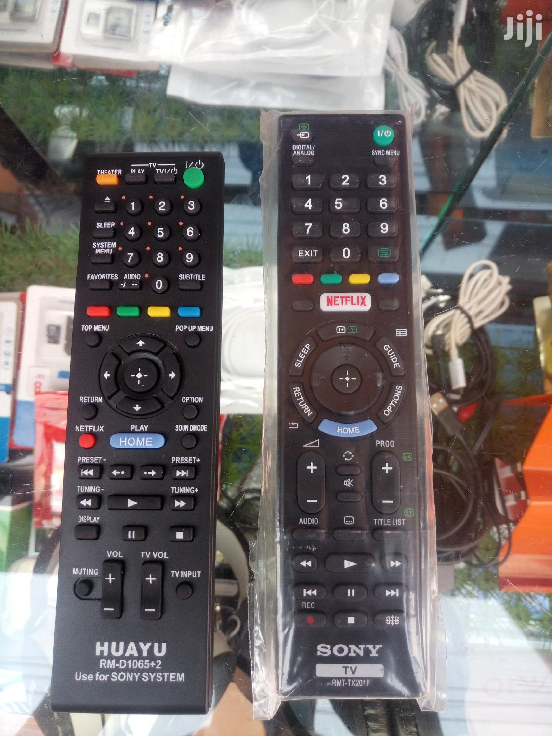 All Types Of Remotes