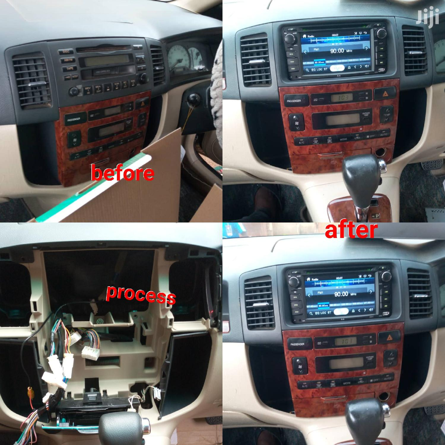Spacio New Model Radio Upgrade With Kit