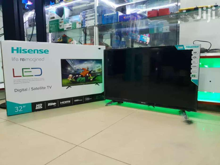 Brand New Hisense Flat Screen Tv 32 Inches | TV & DVD Equipment for sale in Kampala, Central Region, Uganda