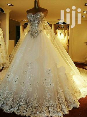 Cinderella White Ball Wedding Dress | Wedding Wear & Accessories for sale in Eastern Region, Jinja