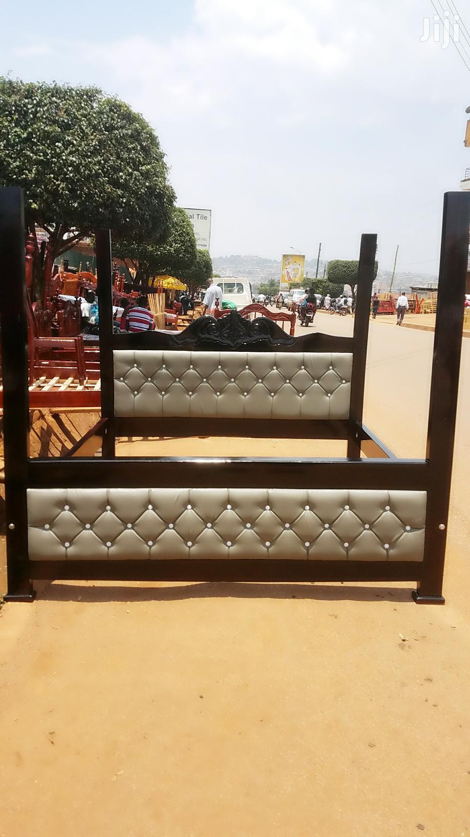 Simple Bed 5by6 in Hard Wood