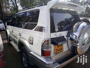 Toyota Land Cruiser Prado 2001 White   Cars for sale in Central Region, Kampala