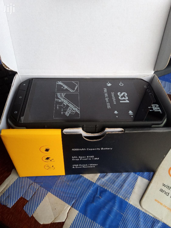 Archive: New Cat S31 16GB Black