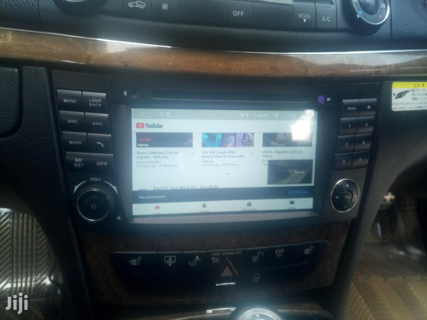 Mercedes Benz W211 E-class Android Radio | Vehicle Parts & Accessories for sale in Kampala, Central Region, Uganda
