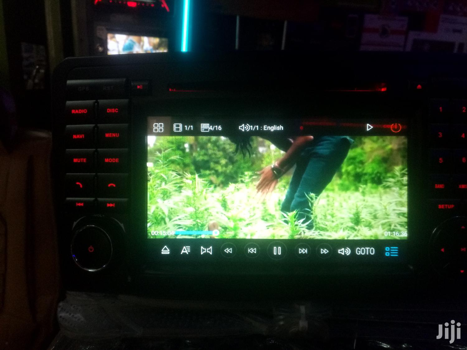 Mercedes Benz W164 4matic Android Radio | Vehicle Parts & Accessories for sale in Kampala, Central Region, Uganda