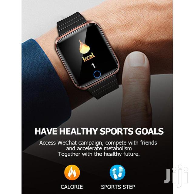 2019 Water Proof Bluetooth Fitness Bracelet Smart Wrist Band Watch | Smart Watches & Trackers for sale in Kampala, Central Region, Uganda