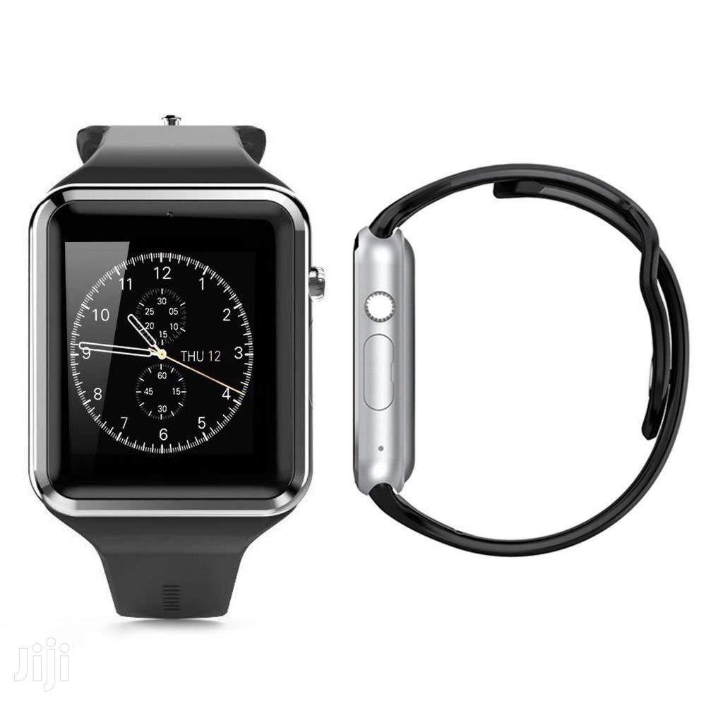 S-Series Touchscreen Bluetooth Smartwatch Simcard Support | Smart Watches & Trackers for sale in Kampala, Central Region, Uganda