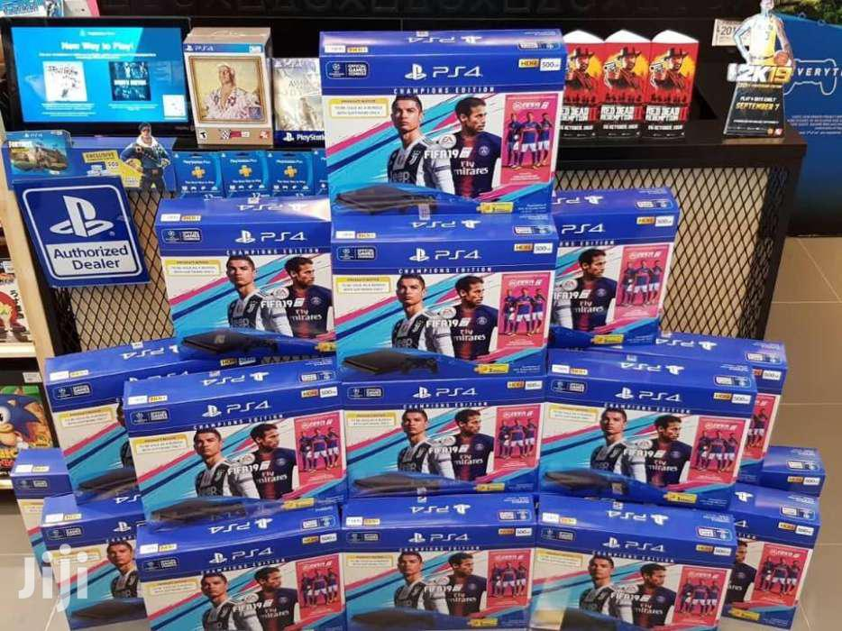 Playstation 4 Slim Fifa 19 Bundles New Available With All Accessories