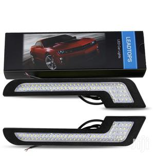 Daytime Running Lights LED White Light L-Shape Strips Cars | Vehicle Parts & Accessories for sale in Central Region, Kampala