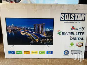 Quick Sale for Solstar Smart 4k UHD TV 55inches | TV & DVD Equipment for sale in Central Region, Kampala