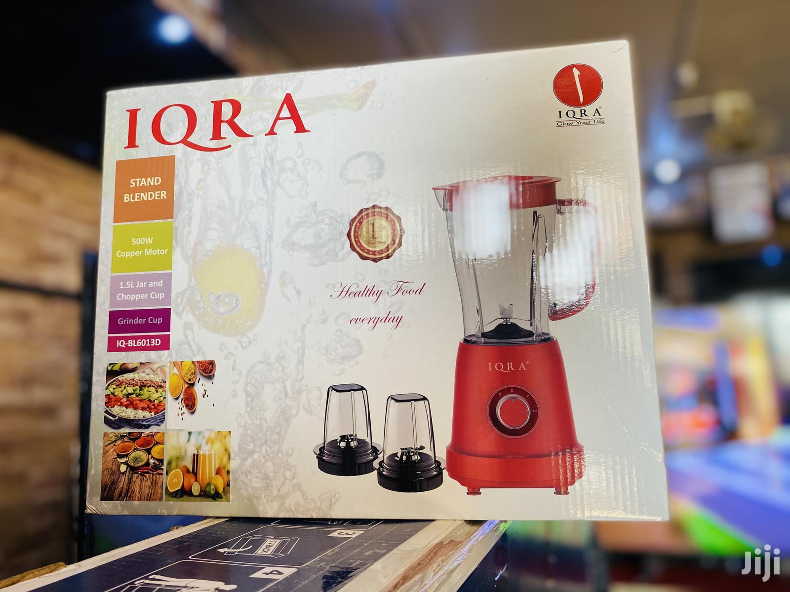 Blender Iqra Stock Clearance In Kampala Kitchen Appliances Cyber Herod Jiji Ug