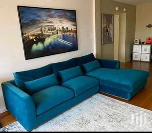 L Sofa in Dack Blue Colour   Furniture for sale in Central Region, Kampala