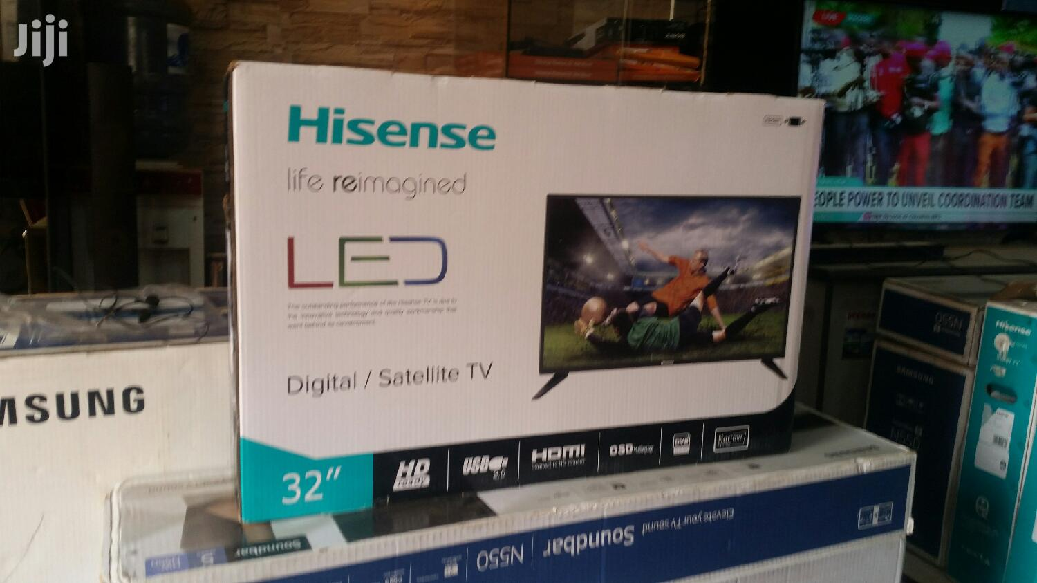 Archive: Hisense 32 Inches Digital Flat Screen Tv