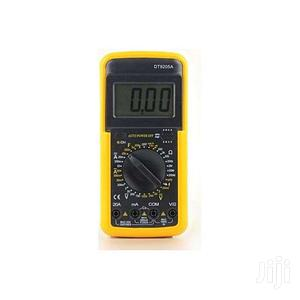 DT-9205A Digital Multimeter Yellow   Measuring & Layout Tools for sale in Central Region, Kampala