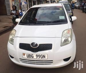 Toyota Vitz 2005 1.0 F White   Cars for sale in Central Region, Kampala