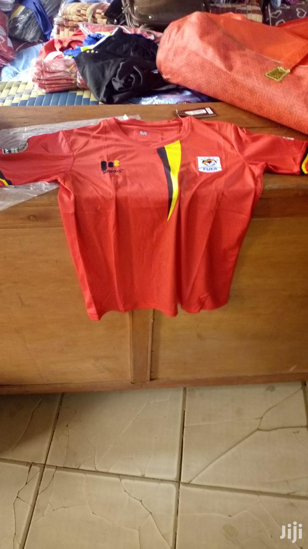 Archive: Serie A,Premiership,Bundesliger,Laligar And Uganda Cranes Jerseys