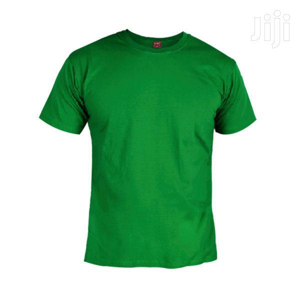 Plain Colours Round Neck T-Shirts