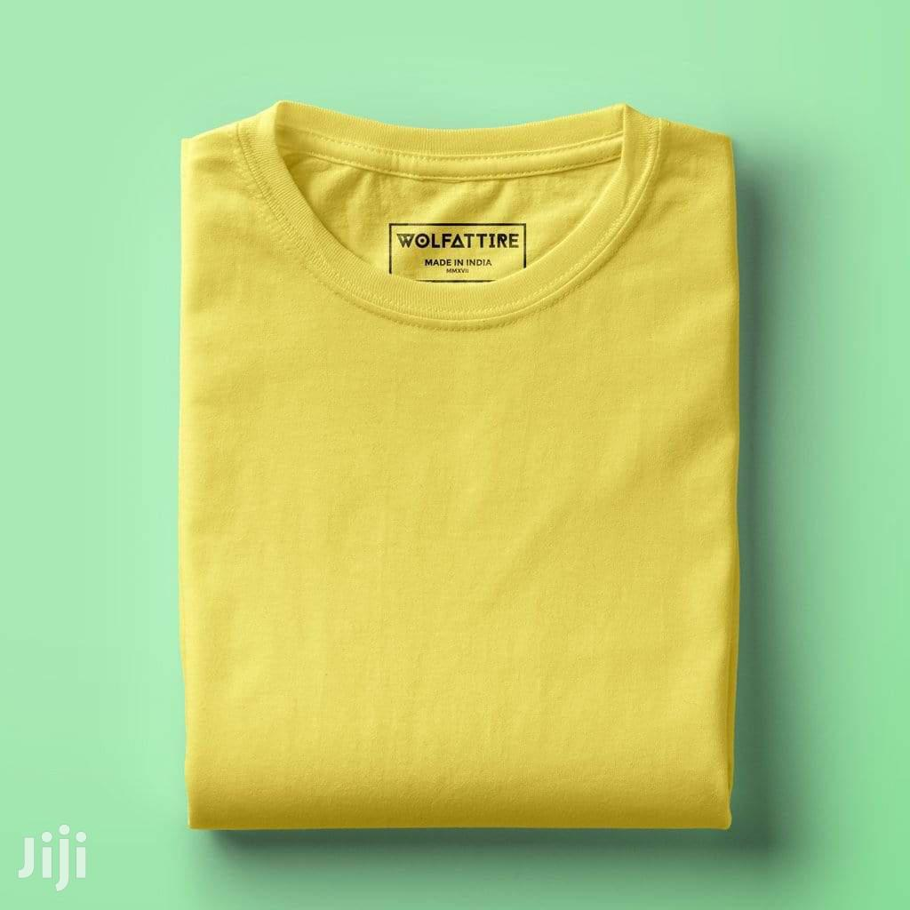 Plain Colours Round Neck T-Shirts | Clothing for sale in Kampala, Central Region, Uganda