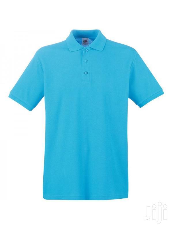 Plain Colours Color Neck T-Shirts