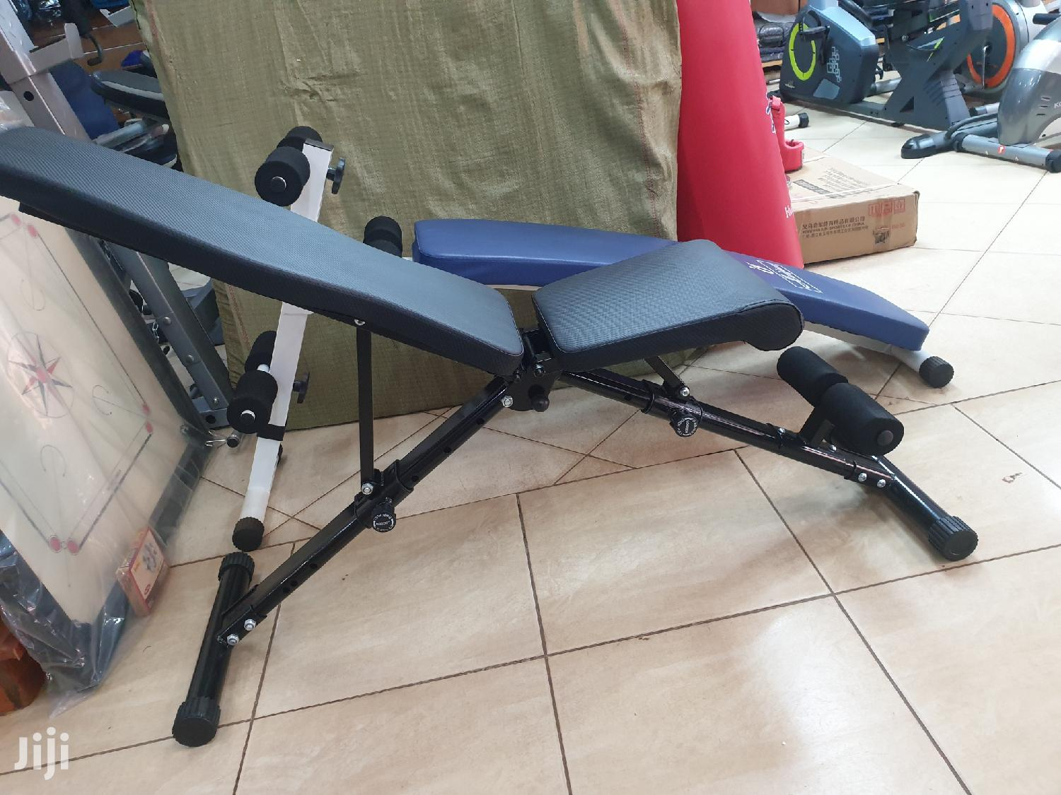 Archive: Adjustable Sit Up Bench for Gym
