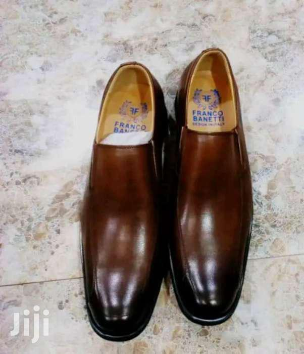 Franco Banetti Pure Leather Shoes | Shoes for sale in Kampala, Central Region, Uganda