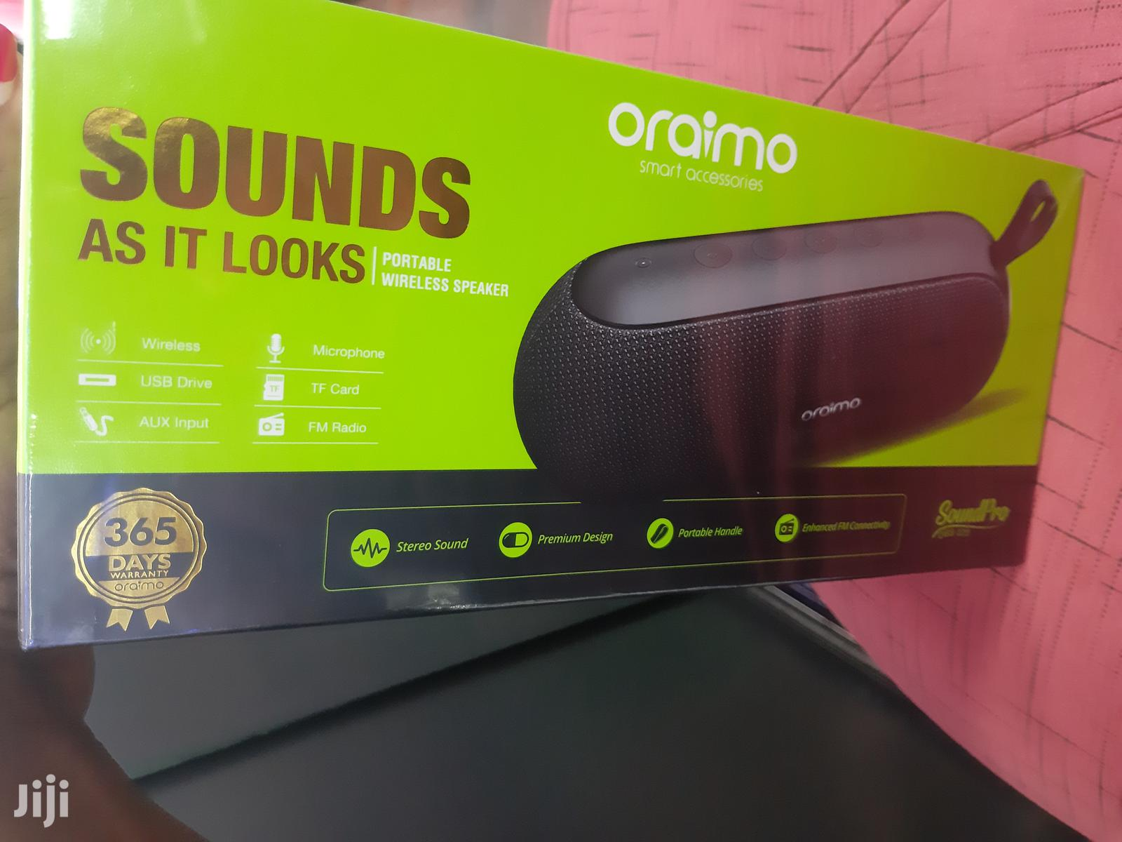 Oraimo Bluetooth Speaker