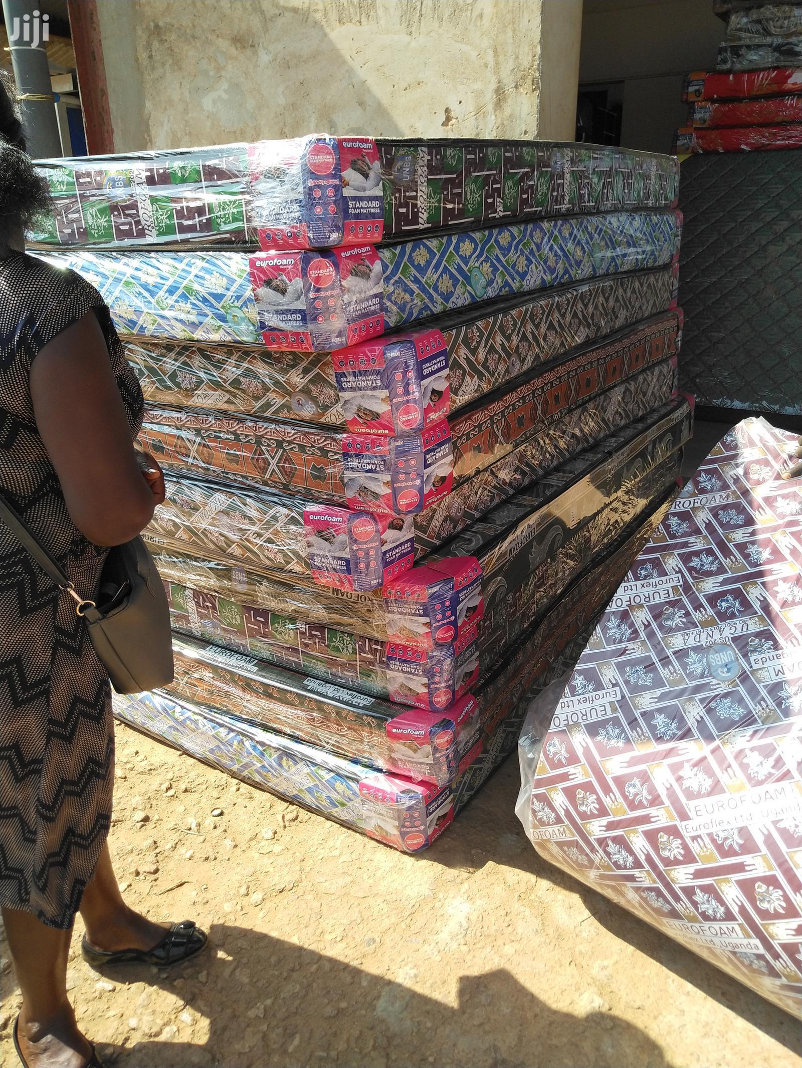 4*6 Eurofoam Tape Edge Closed End Mattresses 20 Density | Furniture for sale in Kampala, Central Region, Uganda