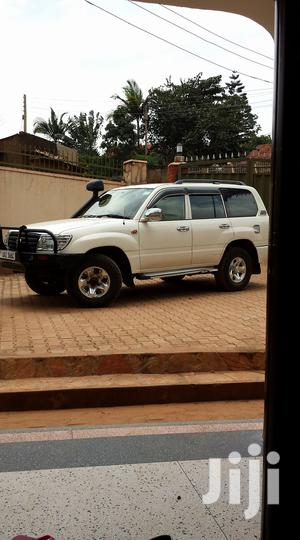 Toyota Land Cruiser 2005 4x4 White   Cars for sale in Central Region, Kampala